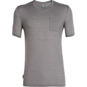 Icebreaker Elmnts t-shirt Heren grijs
